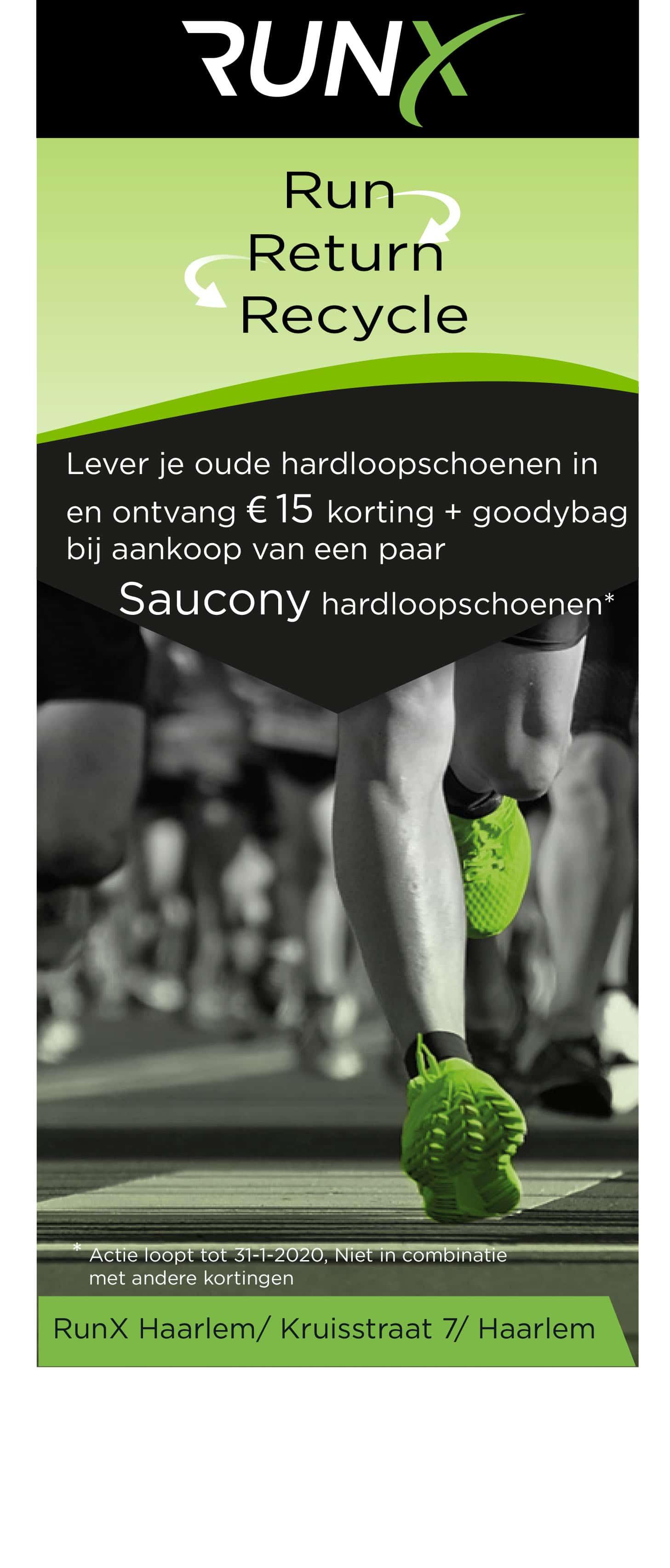 Actie saucony schoenen 1 Haarlem