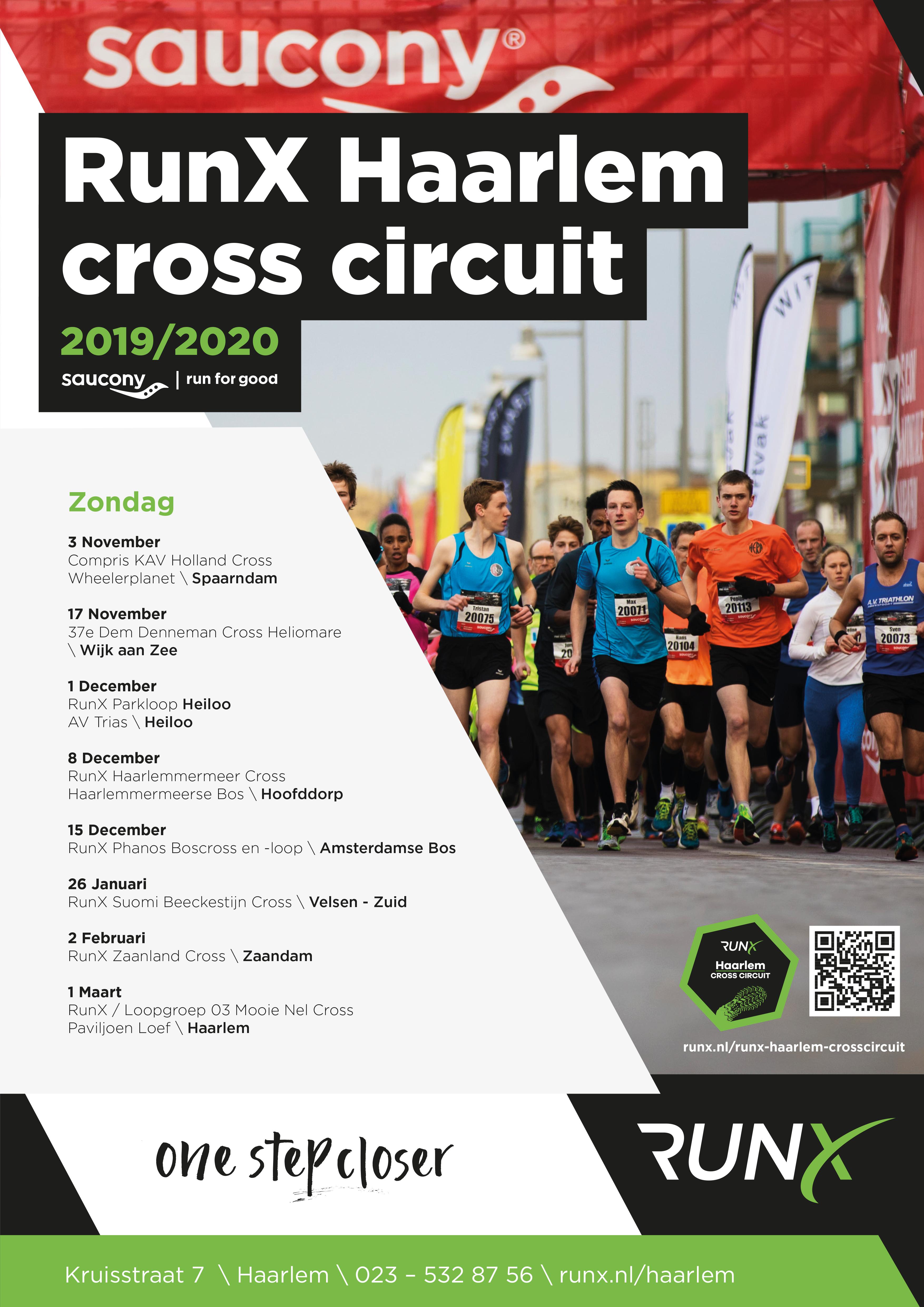 RunX Haarlem Cross Circuit 2019/20