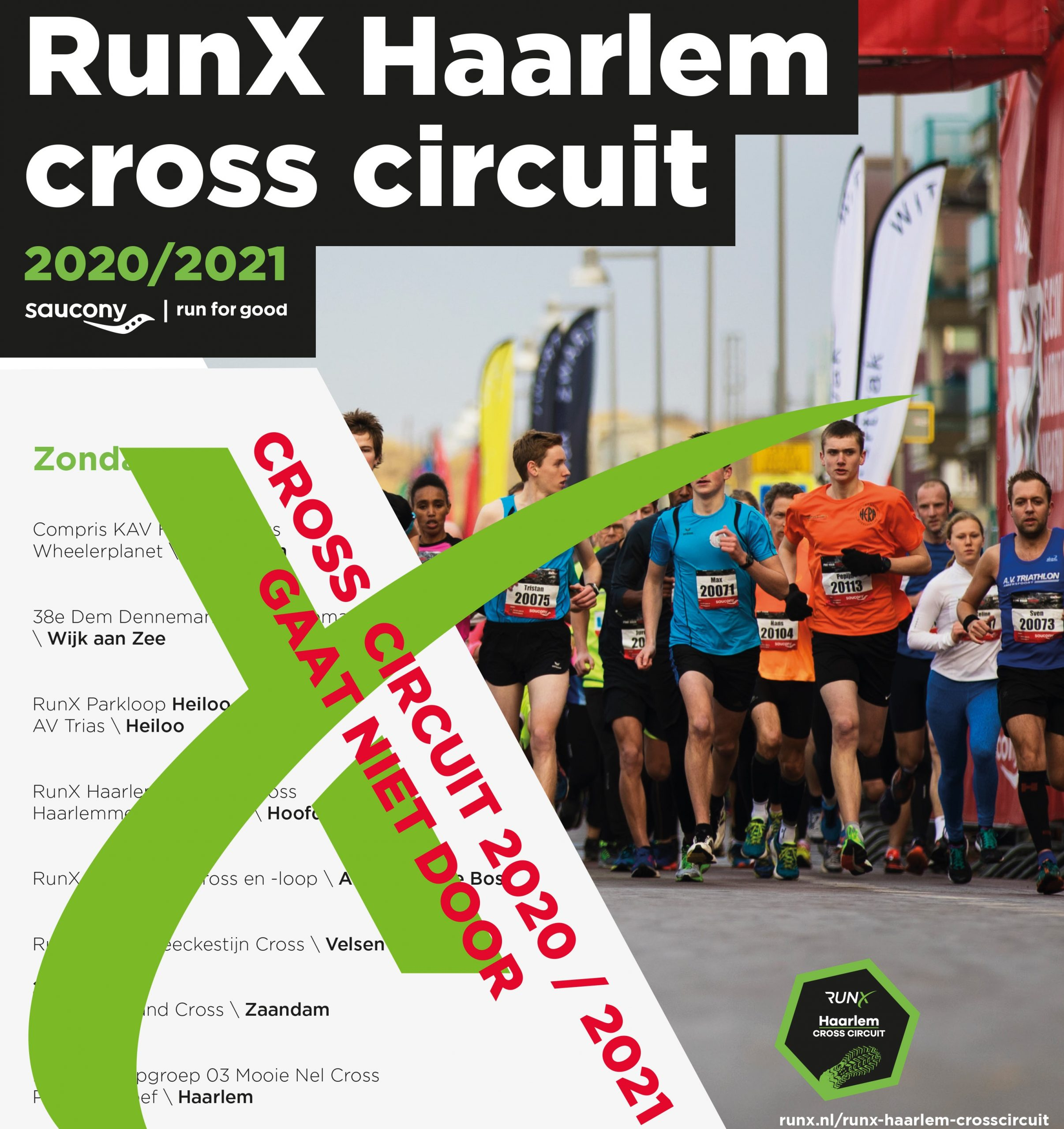 RunX Haarlem Cross Circuit 2020/2021