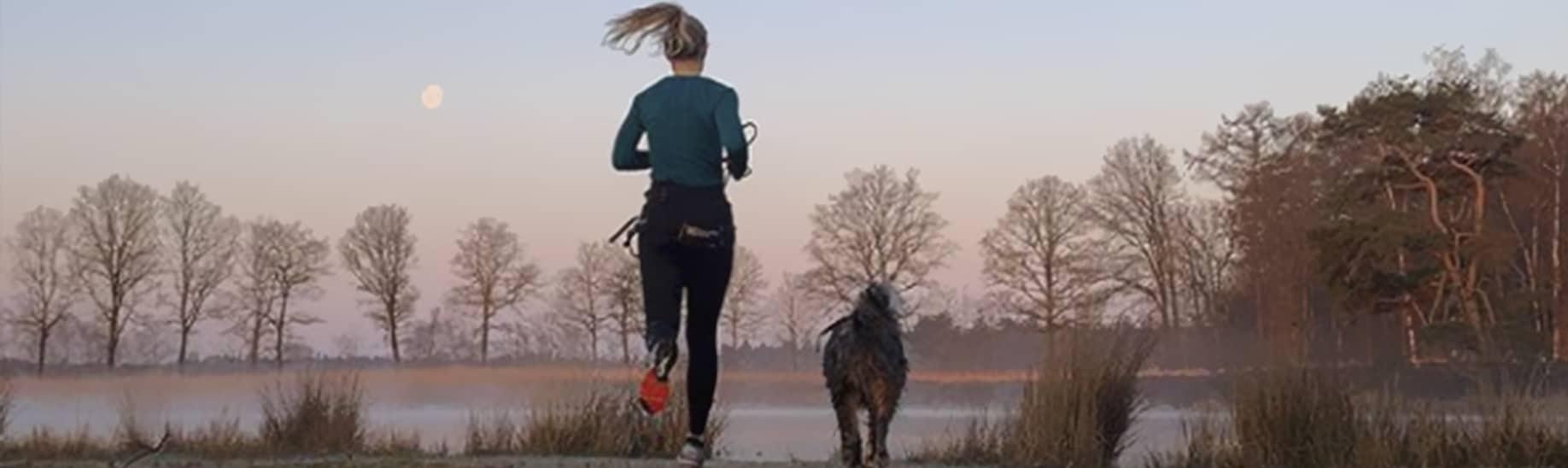 Canitrailen: hardlopen met je hond